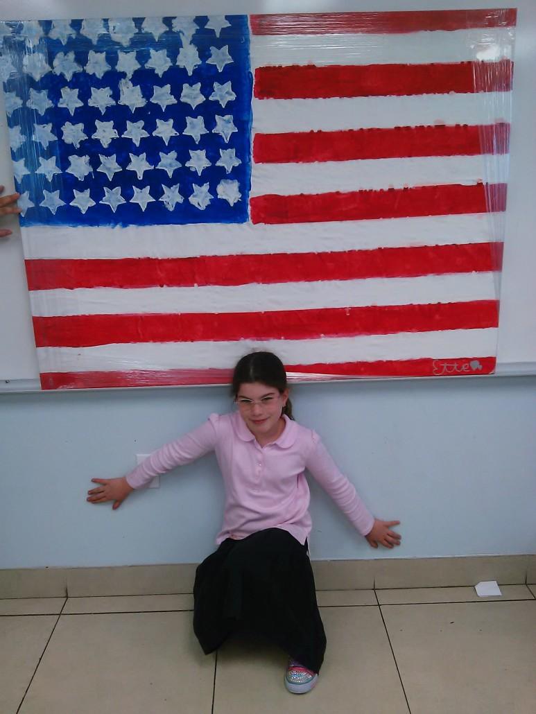 Ettie Laber American Flag 2